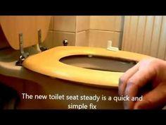 wobbly toilet seat