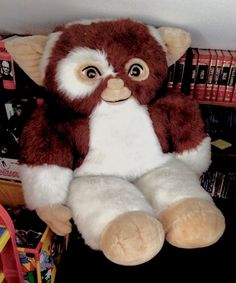 Fluffy Gizmo #gizmo #gremlin #gremlins #mogwai #plush #big #furry #fluffy #giant #photo #photography #fotografia #instapic #foto #art #artistsoninstagram #cute #adorable #chibi #kawaii #fanart