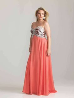 Night Moves 6777W Plus Size Prom