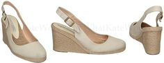 Kate Middleton, the Duchess of Cambridge wore these Pied a Terre Imperia wedges in white to present the royal baby.  Through the Sole: A shoe blog: Shoes for the Royal Baby: Part 2