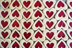 Raspberry-Hazelnut Linzer Hearts | Family Kitchen