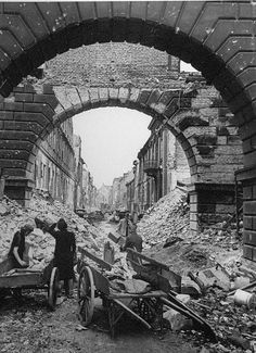 Berlin 1945. I imagine it must have taken some 10 years before Europe stopped looking like a bomb site... I can't even imagine!