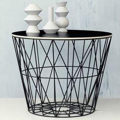 Wired Basket - Ferm LivingBijzettafel