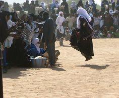 Tuareg dancing ceremony