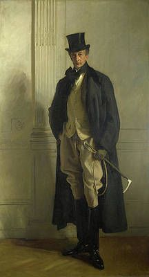 """realism-love: """" Lord Ribblesdale, John Singer Sargent Size: cm Medium: oil, canvas"""" The horsey set David Starkey, Oil Canvas, La Mode Masculine, National Portrait Gallery, Traditional Paintings, Traditional Art, Art Uk, American Artists, Art History"""