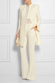 ALEXANDER MCQUEEN Crepe jacket $3,595.00 http://www.net-a-porter.com/products/546149