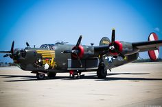 Built in 1944, the B-24 was the shining star of WWII and was the United States' most-produced American military aircraft, with more than 18,000 of the planes built.