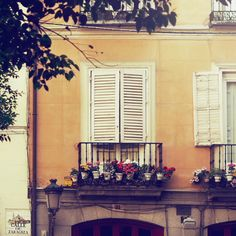 Ventanas Balcony, Madrid - gorgeous little balcony by LittleMissHaze Europe Holidays, Window View, Design Seeds, Spain And Portugal, My Dream Home, Beautiful Images, Outdoor Spaces, Madrid, Places Ive Been