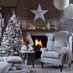 Natale con camino.