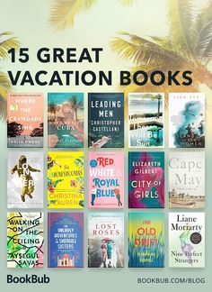 15 great vacation books, from romance to historical fiction! 15 great vacation books, from romance to historical fiction! Book Club Reads, Book Club Books, Book Lists, Book Clubs, Book Club List, Best Books To Read, Good Books, My Books, Plot Twist