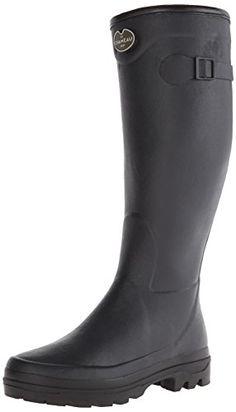 Ranger Womens Puddletons Rubber Rain Boots Blue Amoeba 8 -- Want ...