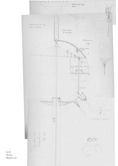 Li-fi Tower Sketch