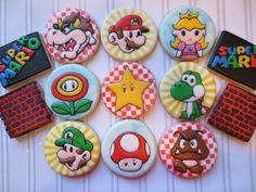 Mario! - Cookie Couture by Sarah