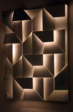 Antonella Fraccalvieri Picture gallery is part of Feature wall design - 3d Interior Design, Interior Walls, Interior Lighting, Lighting Design, Interior Decorating, Feature Wall Design, Office Wall Design, Wall Panel Design, 3d Wall Panels