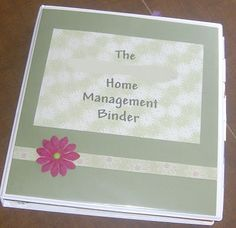 This is My Life...: Binders Can Organize Your Life Series! ~ Part 4