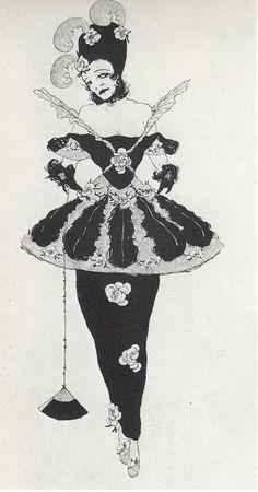 Marchesa Luisa Casati - c. 1914 Decadent Movement, Munich, Magic Tattoo, Art Costume, Costumes, Aubrey Beardsley, Dream Fantasy, Storyboard Artist, Marchesa