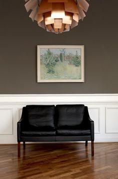 Børge Mogensen sofa & PH artichoke lamp