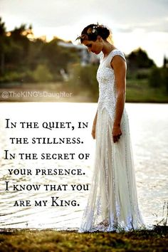 I know that You are my king.