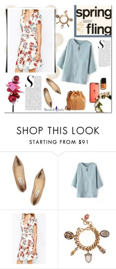 """Spring!"" by tatajrj ❤ liked on Polyvore featuring Jimmy Choo, Alexander McQueen and Sole Society"