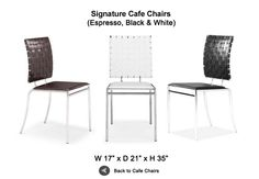 Signature Cafe Chairs