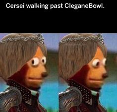 Cersei walking past Winter Is Here, Winter Is Coming, Game Of Thrones Meme, Valar Morghulis, Valar Dohaeris, Cersei Lannister, Daenerys Targaryen, Got Memes, Walking