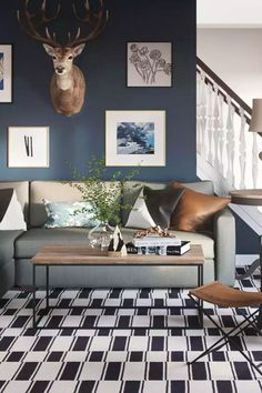 Browse more contemporary, eclectic, rustic living room designs and other interior decorating ideas on Havenly. Find inspiration and discover beautiful interiors designed by Havenly's talented online interior designers.