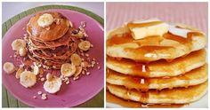 Τα pancakes ή αλλιώς οι τηγανίτες είναι από τα πιο εύκολα γλυκά που μπορείς να φτιάξεις. Δες την καλύτερη και πιο ηρήγορη συνταγή για πεντανόστιμα pancakes Dessert Recipes, Desserts, Pancakes, Food And Drink, Cooking, Breakfast, Tailgate Desserts, Kitchen, Morning Coffee