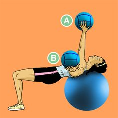 Ditching machines for medicine balls can work the whole body — without the fuss. Here are 25 moves to get the ball rolling on any fitness goal.
