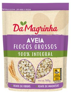 AVEIA FLOCOS GROSSOS 100% INTEGRAL Cookies, Magnesium Sources, Sources Of Fiber, Popcorn Balls, Flakes, The Oatmeal, Lean Body, Crack Crackers, Biscuits