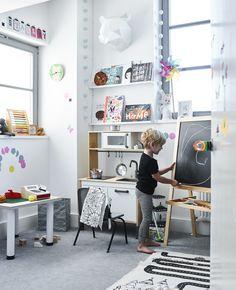 ein servierwagen f r mal und bastelarbeiten kind sein pinterest ikea deutschland. Black Bedroom Furniture Sets. Home Design Ideas