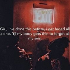 The Weeknd - Nomads She'll be alone when I leave her I like it better that… Music Hits, Music Lyrics, Lyric Quotes, Qoutes, Rap Words, The Weeknd Memes, Gangsta Quotes, Weekend Quotes, Senior Quotes