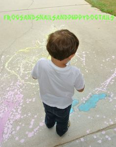 Frogs and Snails and Puppy Dog Tails: Liquid chalk paint
