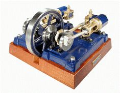 Mini V-type Twin-cylinder Steam Engine Model All Copper Manufacturing Tools