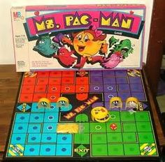 Ms. Pac-Man board game