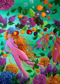 La Corne d'Abondance Peinture acrylique sur toile par Studinano