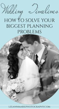 Wedding Timelines - how to solve your biggest planning problems
