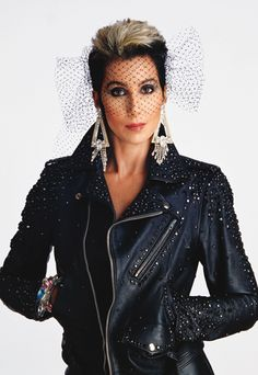 Cher's Signature Style - Circa 1980 from #InStyle