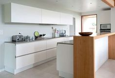 straight lines - great kitchen