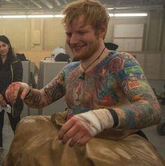 Ed sheeran that smile! *swoon*