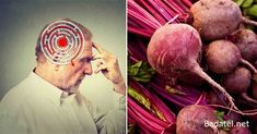Research suggests beets may help prevent Alzheimer's disease, decreasing damaging oxidation of neurons by as much as 90 percent; beets also fight inflammation, help you detoxify, improve brain neuroplasticity and Health Facts, Health And Nutrition, Alzheimer's Prevention, Neurone, Neuroplasticity, Heath And Fitness, Alzheimer's And Dementia, Brain Health, Healthy Brain