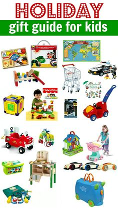 Great toy gift guide for kids 0-6. All tested for at least a year by a real family! { Updated for 2013 ! }
