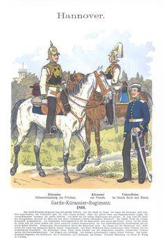 Band XII #37.- Hannover. Garde-Kürassier-Regiment 1866.