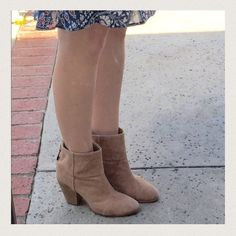 "Rag & Bone NEWBURY ankle boot beige Canvas 9 sand Versatile best-seller booTie...NEWBURY ankle boot by RAG & BONE. SZ 39.5, fits SZ 9. Beige /sand / light camel canvas with 3.5"" wood stacked heel. Zip back. No original box or dust bag. rag & bone Shoes Ankle Boots & Booties"