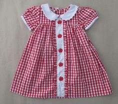 Dress from smocked blessings.