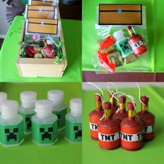 Super Christmas Party Games For Teens Signs Ideas Memes Minecraft, Craft Minecraft, Minecraft Party Favors, Minecraft Party Decorations, Skins Minecraft, Diy Minecraft Birthday Party, Minecraft Creations, Minecraft Cake, Minecraft Ideas