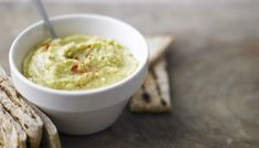 Yum, yum, yum! A great and easy avocado hummus recipe. -Maura