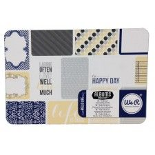 Hello Life Journaling Cards 4 x 6 - We R packaging