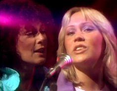 ABBA Anni-Frid Lyngstad and Agnetha Fältskog