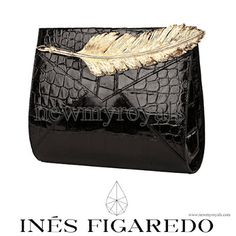 Ines Figaredo Coco Clutch Bag