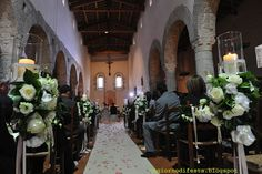 Italy wedding in Umbria la chiesa